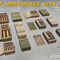 1:35 Soviet Ammo Boxes w/Shells 1:35
