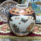 Cumpara ieftin Vaza Chinezeasca, rotunda, model floral