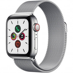 Smartwatch Apple Watch Series 5 GPS Cellular 40mm Stainless Steel Case Stainless Steel Milanese Loop