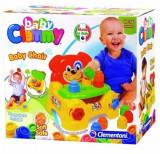 Baby Clemmy - Fotoliu catelus, 10 cuburi, Clementoni