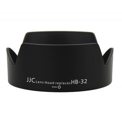 JJC LH-32 Parasolar HB-32 pentru Nikon 18-70mm 18-135mm 18-105mm 18-140mm foto