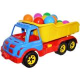 Camion De Plastic Cu Mingiute, 60 Cm