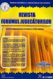 Cumpara ieftin Revista Forumul Judecatorilor - Nr. 2 2009