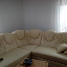 Canapea extensibila bej