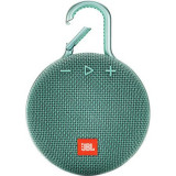 Boxa portabila JBL Clip 3, Bluetooth, turcoaz
