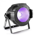 Beamz Professional COB100UV PAR, UV LED, 100 W, DMX sau standalone, negru