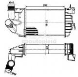 Radiator intercooler OPEL ZAFIRA B (A05) (2005 - 2016) ITN 01-4584OL