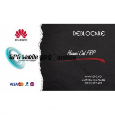 Deblocare Huawei FRP prin IMEI 1-24 ore