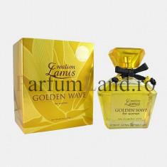 Parfum Creation Lamis Golden Wave 96ml EDP / Replica Paco Rabanne -Lady Million