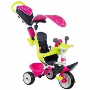 Tricicleta Pentru Copii Smoby Baby Driver Comfort - Pink