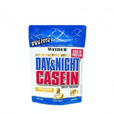 WEIDER Caseine Day & Night, 500 g, vanilie
