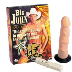 Papusa gonflabila Big John cu vibratii