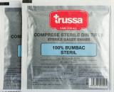 Comprese sterile taiate, 10x8 cm, 5 buc, Trussa