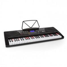 SCHUBERT Etude 225 Tastatură de învățare, USB 6,taste iluminate, afișaj LCD, negru