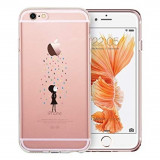 Cumpara ieftin Husa APPLE iPhone 6\6S Plus - Jelly Clear (Transparent) Anti-Ingalbenire, iPhone 6 Plus, Gel TPU, Carcasa, Mercury