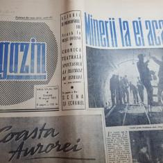 magazin 10 august 1963-mina dalga pe valea jiului,,aninoasa,petrila,misu fotino
