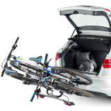 Suport biciclete Cruz Stema pentru 2 biciclete cu prindere pe carligul de remorcare