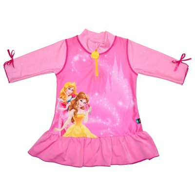 Tricou de baie Princess marime 86-92 protectie UV Swimpy for Your BabyKids foto