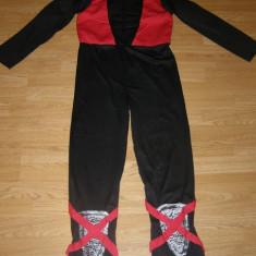 Costum carnaval serbare ninja pentru copii de 11-12 ani, 10-11 ani, Din imagine