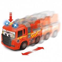 Masina de pompieri copii 1+ an Happy Scania Fire Truck