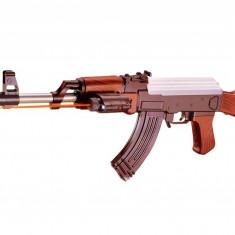 RENUMITUL AK47 RUSESC,ACUM SUB FORMA DE PUSCA CU BILE 6MM,TEAVA METALICA+BILE!