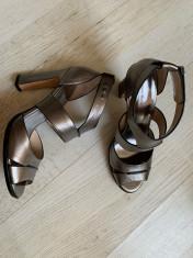 Sandale dama, piele interior+exterior, marimea 41 foto