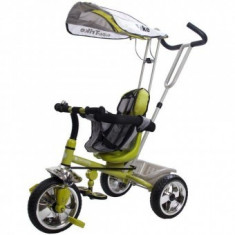 Tricicleta Copii Fun Time Super Trike - Verde