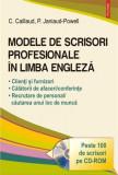 Modele de scrisori profesionale in limba engleza (contine CD) | Patricia Janiaud-Powell, Carole Caillaud