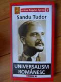 Universalism Romanesc - Sandu Tudor ,537904