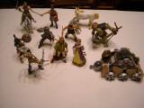 Papo - figurine Cezar, barbari, gladiator, inorog, regi, capcaun si catapulta, Baiat