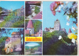Bnk cp Cetatea Bran - Vedere - necirculata, Printata, Brasov