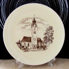 Farfurie veche Duminica de Craciun-Langnau1965. Rara