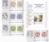 EFIRO 2008,TETE-BECHE CU VINIETA + COLITA,2008, MNH ** ROMANIA