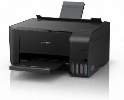 Imprimanta Multifunctionala Epson L3150, Inkjet, CISS, Color, Format A4, Wi-Fi foto