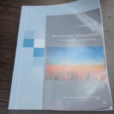 SECURITATEA ALIMENTARA - CORINA ENE