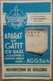 Instructiuni folosire aparat de gatit cu gaze 1 septembrie