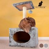 Suport pentru Ascutit Gheare pentru Pisici cu Casuta