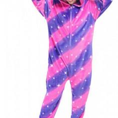 PJM138-1155 Pijama pufoasa intreaga cu model unicorn