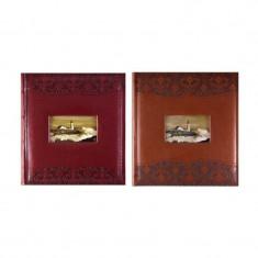 Album foto Luxury, piele, personalizabil, memo, 200 poze, format 10x15cm