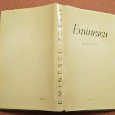 Poezii. Editie ingrijita de Perpessicius. E.S.P.L.A., 1960 - M. Eminescu, Alta editura, Mihai Eminescu