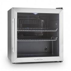 Klarstein Klarstein Beersafe L frigider 50 litri usa de sticla, clasa B din oțel inoxidabil