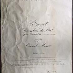 Brevet Ordinul Muncii Cls III - 1965