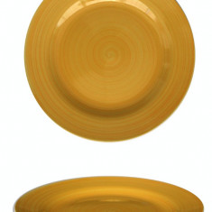 Farfurie ceramica 19cm galben Raki