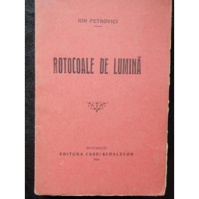 ROTOCOALE DE LUMINA - ION PETROVICI foto