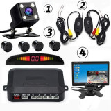 Pachet Mers Inapoi Monitor 7 inch Camera 4 Led + Senzori Parcar - 36