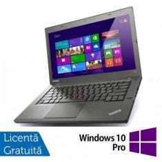 Laptop Refurbished LENOVO ThinkPad T440P, Intel Core i5-4200M 2.5GHz, 4GB DDR3, 256 GB SSD, DVD-RW + Windows 10 Pro