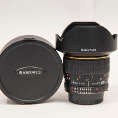 Samyang 14mm Obiectiv DSLR F2.8 Montura Nikon