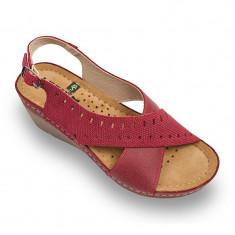 Sandale Leon 1030 rosu – dama