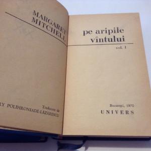 Pe aripile vintului - M. Mitchell - 2 vol LEGATE DE LUX--RF16/0