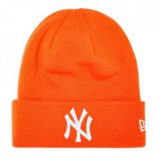 Caciula New Era Essential Cuff New York Yankees Portocaliu - 16281047816